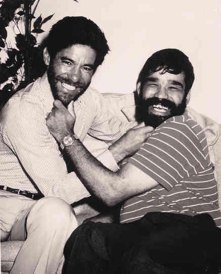 Geraldo Rivera with longtime friend Bernard Carabello, a Willowbrook survivor.