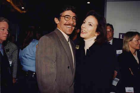 Geraldo with Marsha Clark