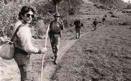 Geraldo on the march with troops