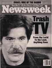 Newsweek magazine dubs Geraldo's talk show