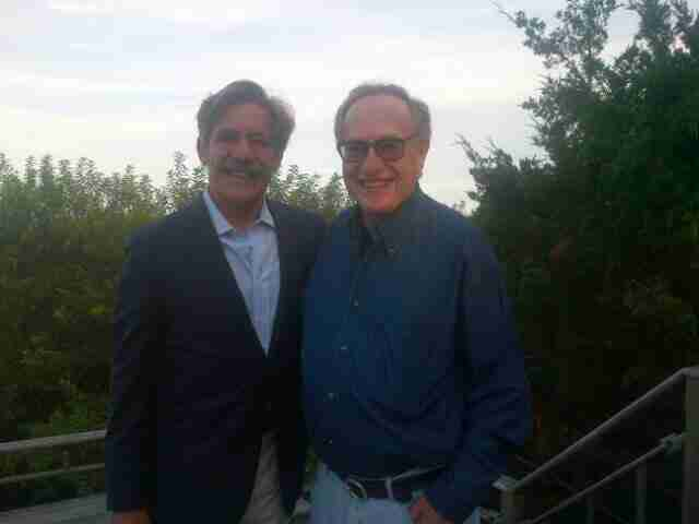 Geraldo with friend and colleague Alan Dershowitz, Attorney At Law