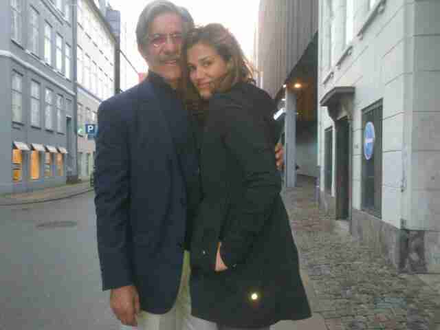 Geraldo And Erica share a photo.
