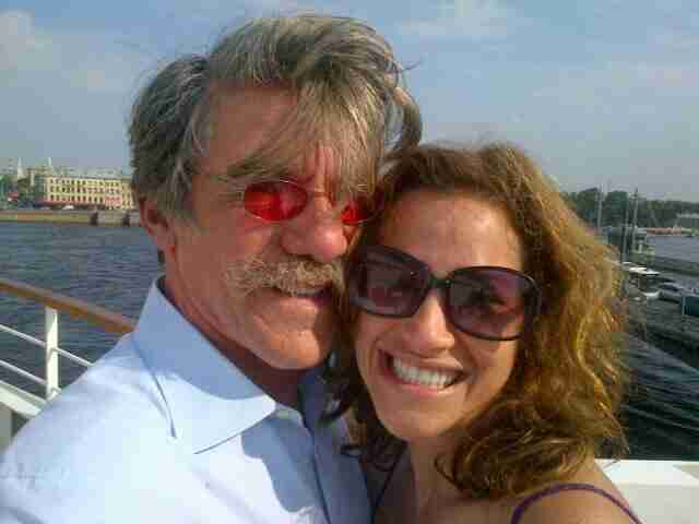 Geraldo and his wife Erica Rivera