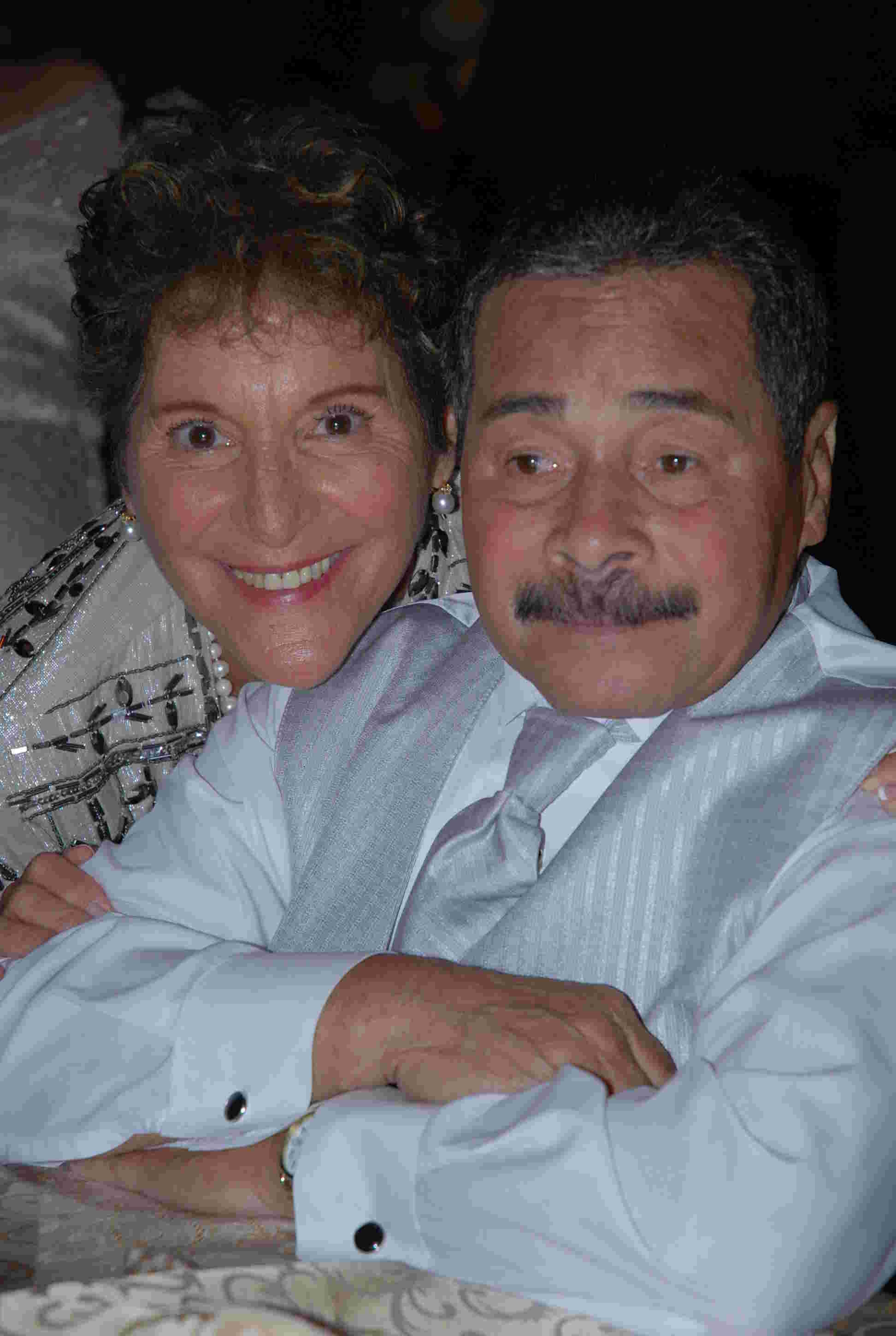 Geraldo's sister Sharon Rivera, and brother Wilfredo.