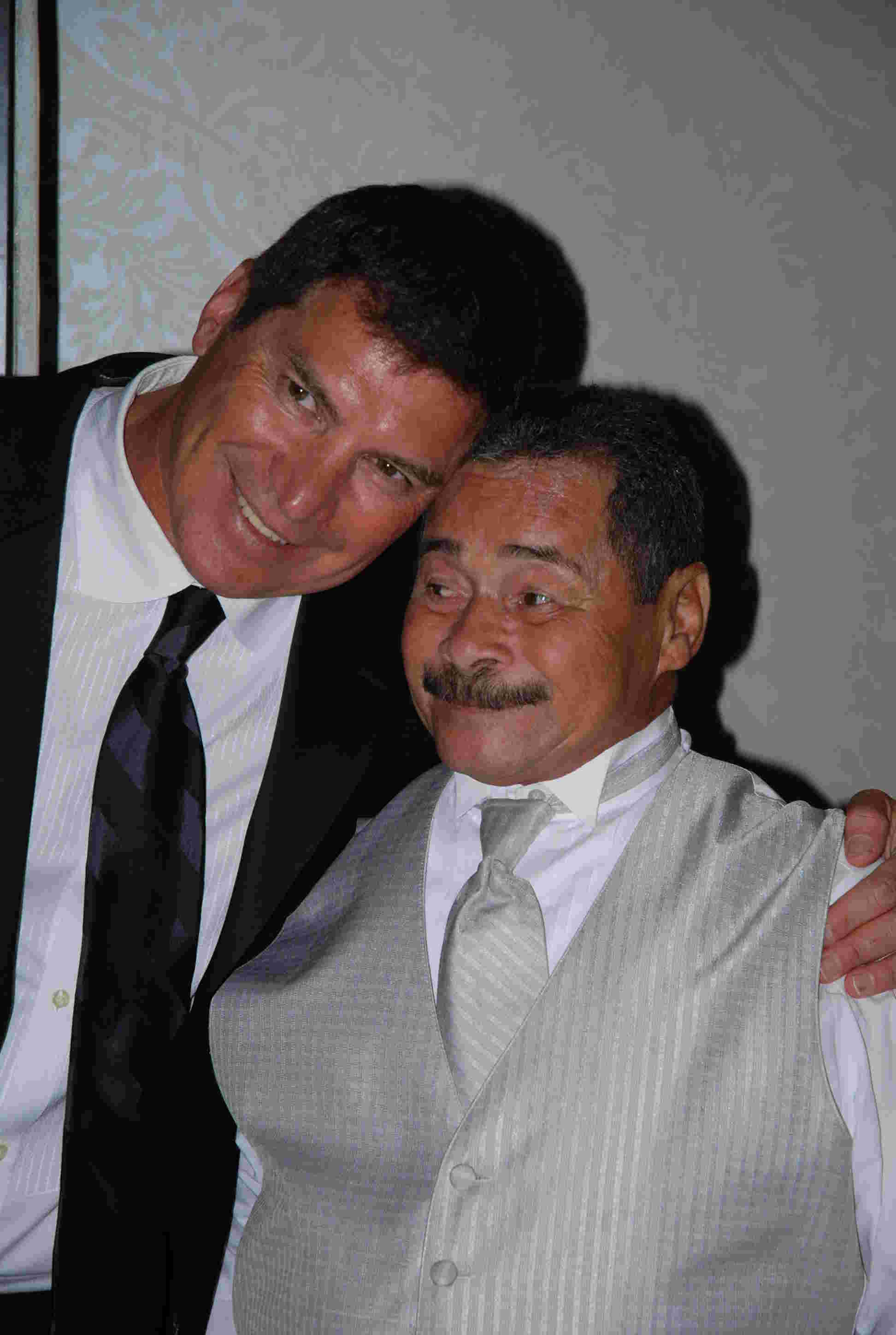 Geraldo's brothers Craig Rivera and Wilfredo Rivera.