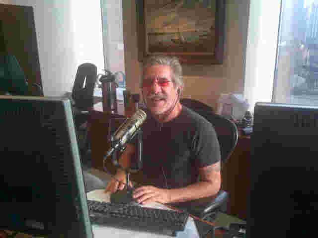 Geraldo back at his radio show on 77 WABC after a break.