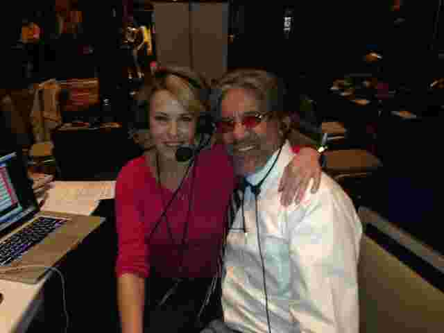 Geraldo on air with Chelsea Handler