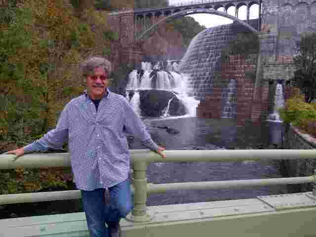 Geraldo at the Croton Dam in New York.