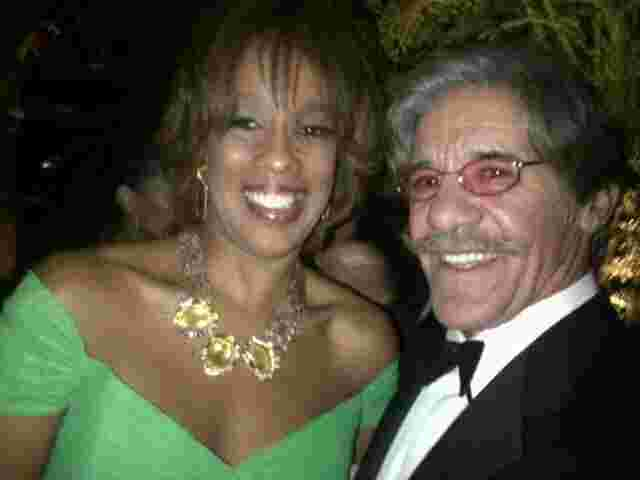 Geraldo poses with Gayle