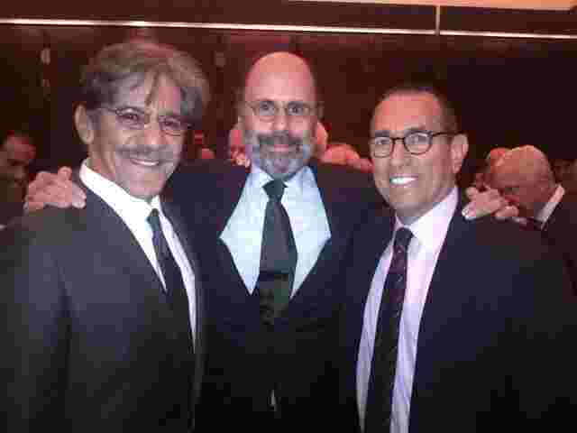 Geraldo with fellow attorneys Gerry Shargell and Gerry Lefcourt.
