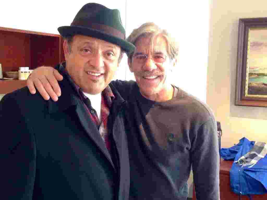 Geraldo with Paul Rodrigez