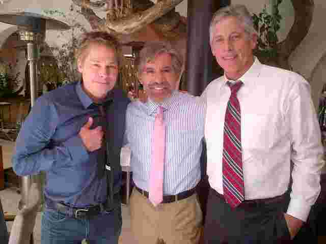 Geraldo with guests for his Fox News Special, Geraldo Rivera Reports