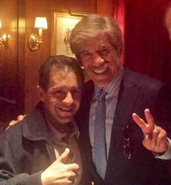 Geraldo meets up with American Pharoah jockey Victor Espinoza.