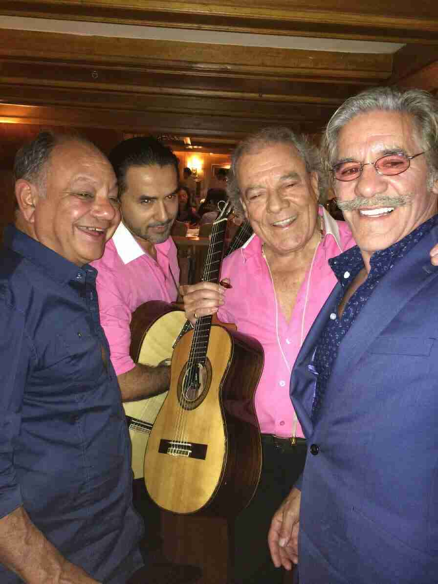 Geraldo, Cheech Marin, Church Bandit to Birthday, Barcelona.