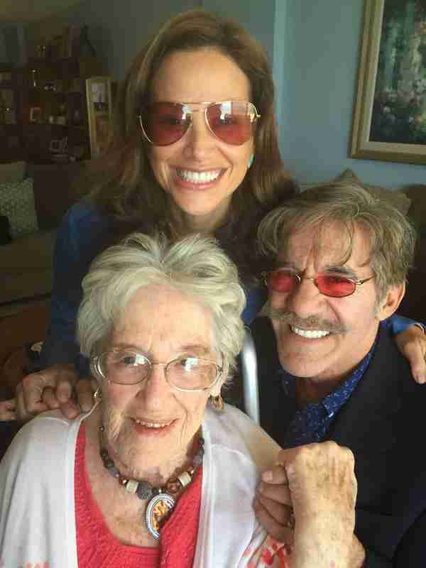 Geraldo and his wife Erica during a visit with Grandma Lillian in 2015.