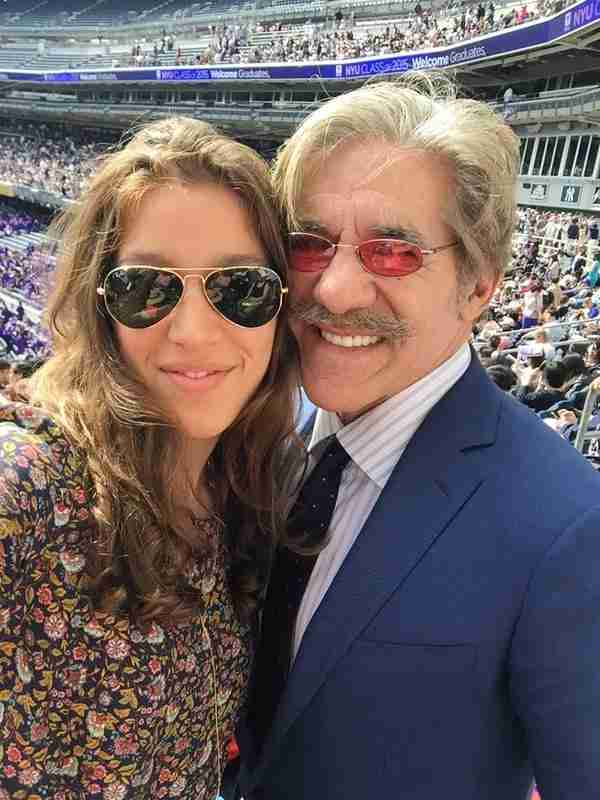 Geraldo with his daughter Simone