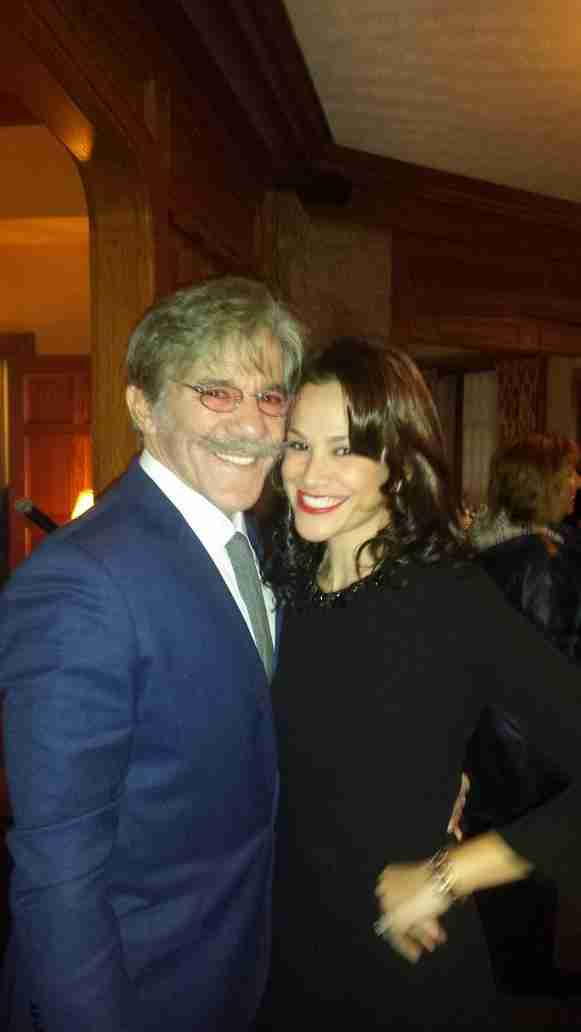 Geraldo and Erica enjoying a night out in the city, 2015.