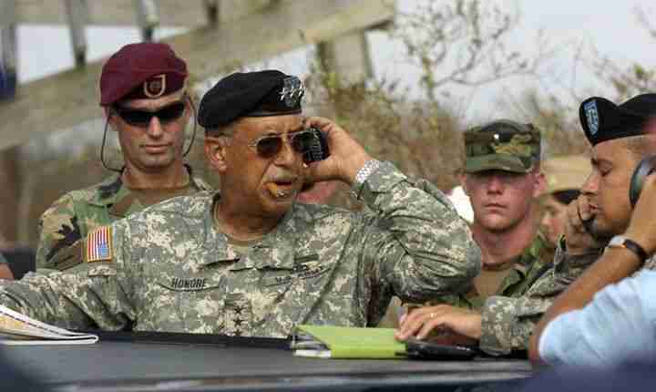 Potential Ebola Czar ?  Geraldo says LT Russell Honore is up to the task.