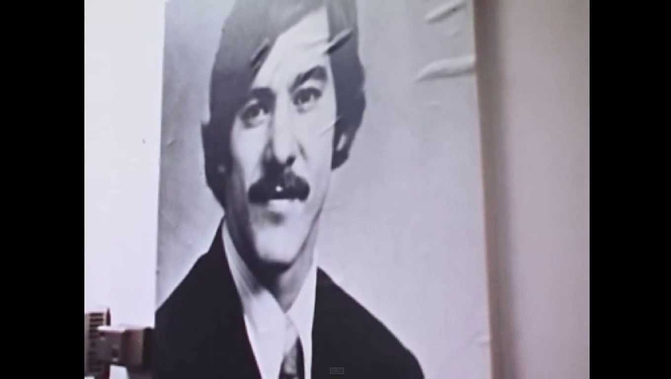 Geraldo Rivera Behind The Scenes in 1973