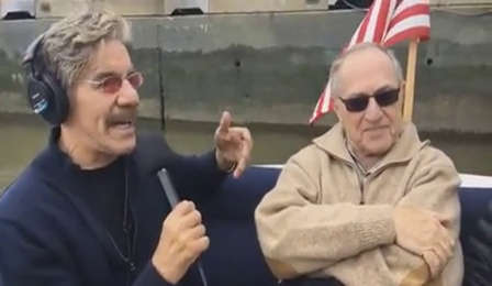 Geraldo Rivera with Alan Dershowitz, 2017