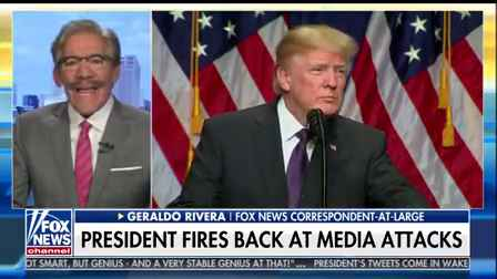 Trump media feud