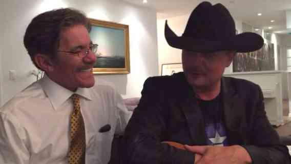 Geraldo Rivera with John Rich