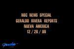 Geraldo Rivera special Nueva America
