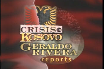 Crisis in Kosovo logo