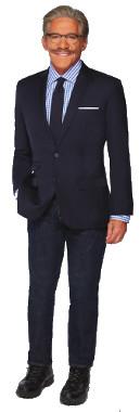 Geraldo Rivera stand up portrait