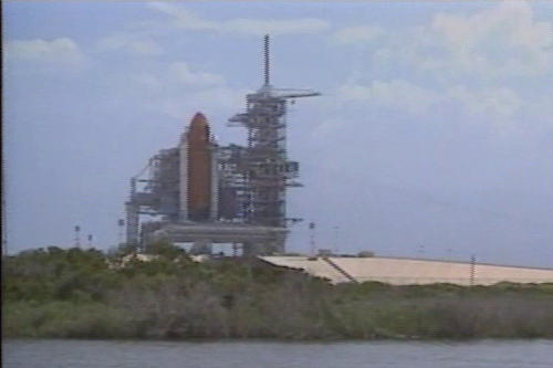 Cape Canaveral launchpad