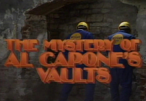 Mystery of Al Capone's Vault