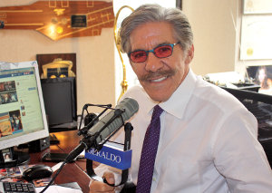 Geraldo Rivera during podcast