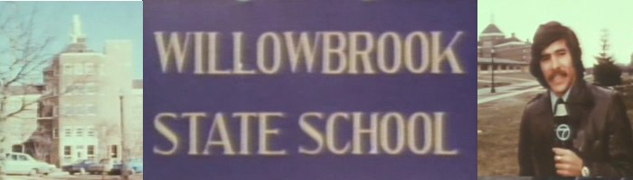 Willowbrook documentary title logo