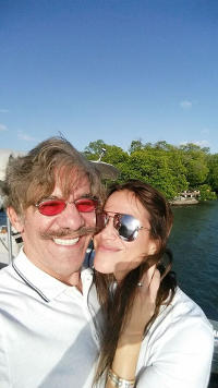 Geraldo & Erica Rivera on island in Puerto Rico, 2017