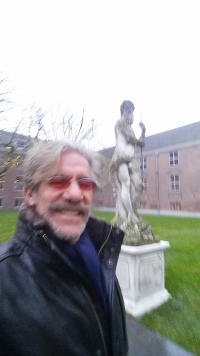 Geraldo on Christmas vacation in Europe